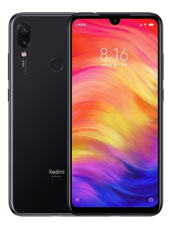 Celular Xiaomi Redmi Note 7 64gb 4gb Ram Dual Global Preto