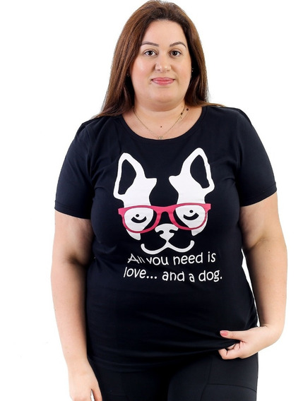 10 Camisetas Blusa T-shirt Feminina Plus Size