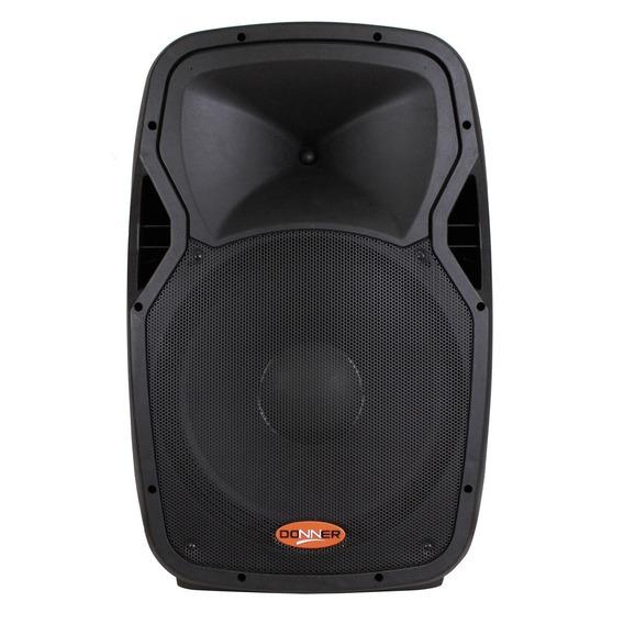 Caixa Acústica Passiva 15pol 2speakon 300w Rms 8 Ohms Donner