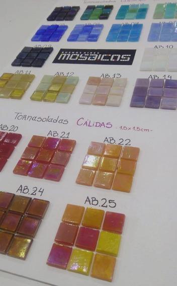 Venecitas Clasicas Tornasoladas 1.5x1.5 Blister X 25 U