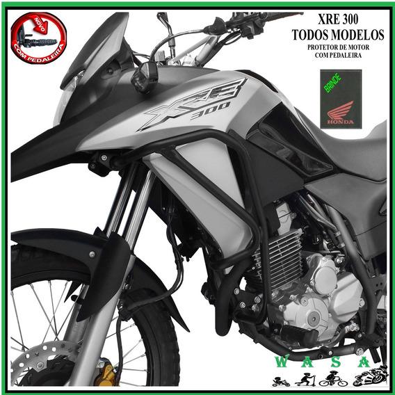 Protetor Motor E Carenagem C/ Pedaleira Xre 300 2009/2019