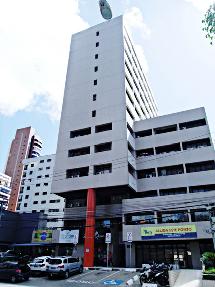 Aluguel Sala Comercial Com Estacionamento Rotativo
