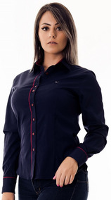 Camisa Social Feminina Luna - Pimenta Rosada