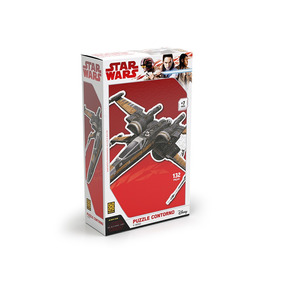 Puzzle Contorno X-wing Star Wars Grow
