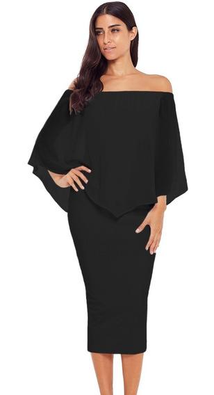 Sexy Elegante Vestido Midi Fiesta Noche 610292 2