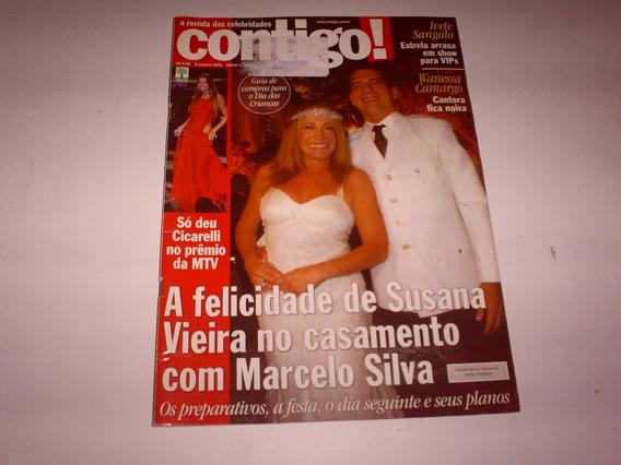 Revista Contigo Nº 1620 10/06 Casamento Susana Vieira