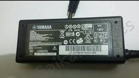 Fonte De Alimentação Para Teclados Yamaha 16v 4.5a