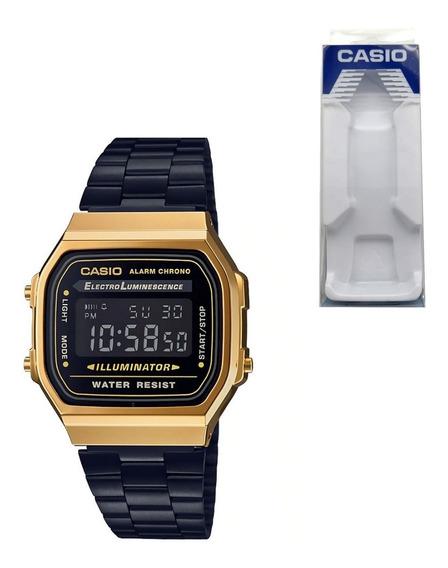 Origin Casio Retro Años Digital Vintage 80 A168 Dorado Reloj UqzVpSM