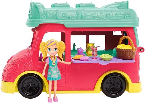 Imagen 1 de 4 de Polly Pocket Food Truck De Licuados