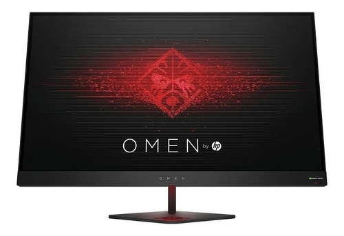 "Monitor HP Omen 27 led 27"" negro 100V/240V"