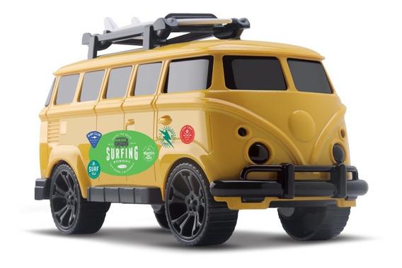 Brinquedo Swell Kombi Com Prancha Surf - Orange Toys