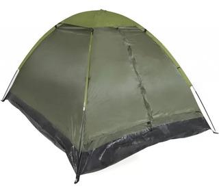 Barraca Camping Pantanal 3 Lugares - Verde Militar - Mor