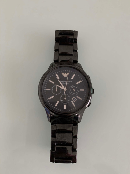 Relógio Emporio Armani Ceramica Black