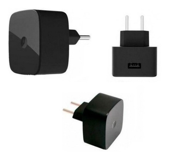 Carregador Usb Turbo Para Tablet Amazon Kindle 5v 3a - Preto