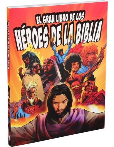 Livro Heróis Da Bíblia Ilustrado Em Quadrinhos Infantil Sbb