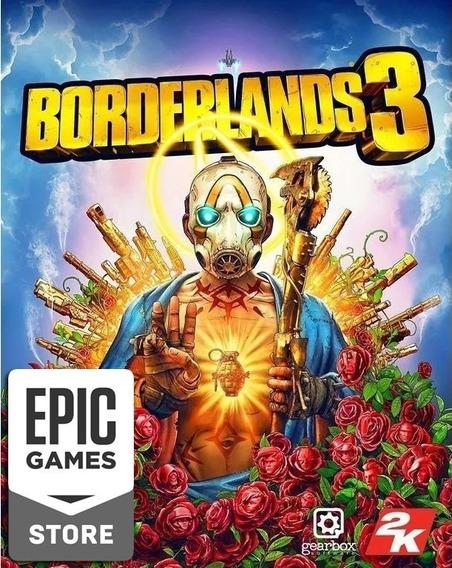 Borderlands 3 Epic Games Pc Key (original / Genuíno)