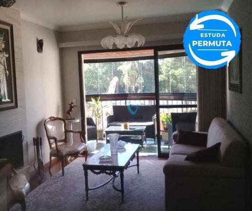 Imagem 1 de 11 de Apartamento Com 3 Dormitórios À Venda, 112 M² Por R$ 880.000,00 - Alphaville - Barueri/sp - Ap2256