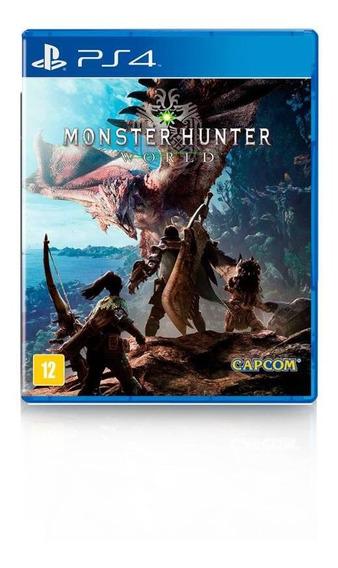 Jogo Game Monster Hunter World - Ps4