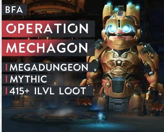 Wow Rush Operação Mechagon (gnomecan) Normal Mode - Horda