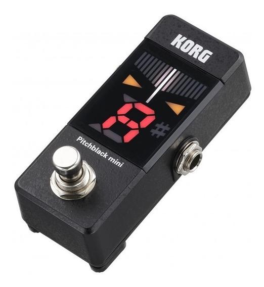 Korg Pitchblack Mini Afinador Cromatico De Pedal