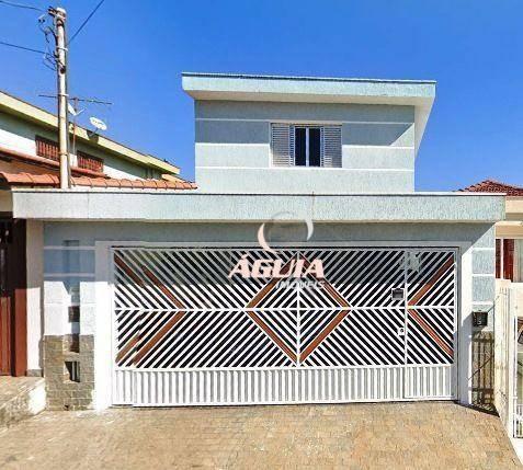 Imagem 1 de 30 de Sobrado Com 3 Dormitórios À Venda, 209 M² Por R$ 650.000,00 - Vila Guarani - Santo André/sp - So1552