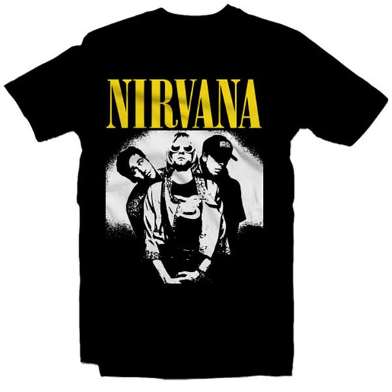 Playeras Nirvana - 15 Diseños Disponibles