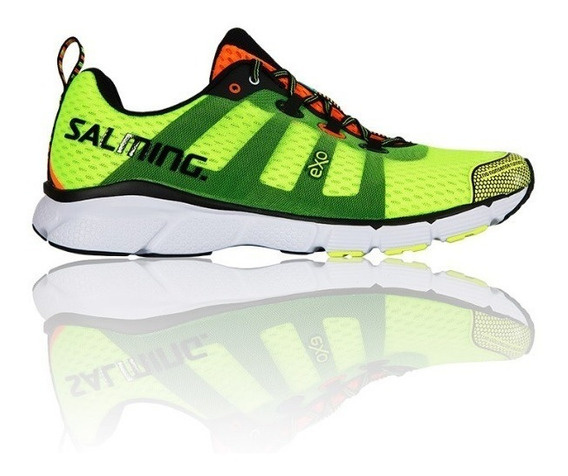 Zapatillas Salming Trail Runing Enroute Safety Yellow Hombre