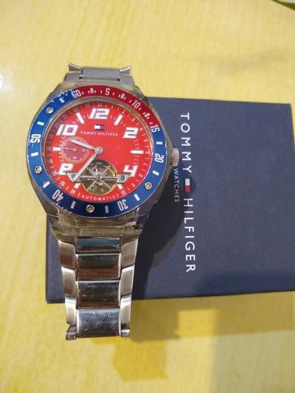 Relógio Tommy Hilfiger Original Automático Grande Aço