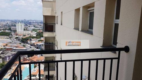 Cobertura Com 2 Dormitórios À Venda, 134 M² Por R$ 590.000 - Vila Valparaíso - Santo André/sp - Co1112