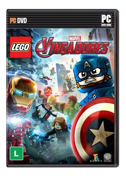 Lego Marvel Vingadores - Pc - Mídia Física
