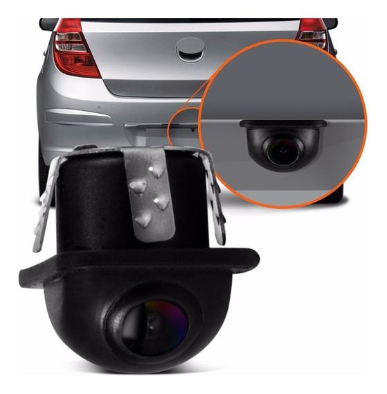 Mini Camera Ré Estacionamento Automotiva Colorida Universal