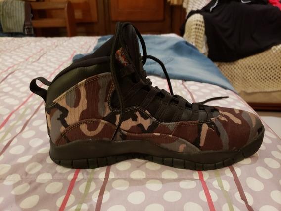 Zapatillas Nike Aire Jordan Vamos Talle 10.5 Us