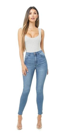 Jeans Forever 21 Skinny Tiro Alto Usa Varios Modelos 24-31