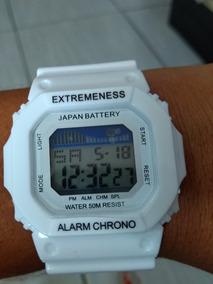 Relógio Skmei 6918 Branco Feminino 50 Metros A Prova De Água