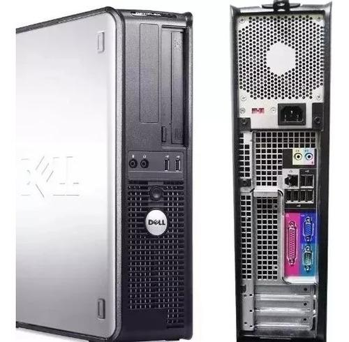 Imagem 1 de 4 de Cpu Dell E8400 8gb Hd 500 + Win 10 + Monitor 17 + Caixinha