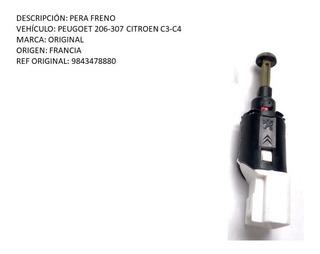 Pera Freno Peugoet 206-307 Citroen C3-c4 Original