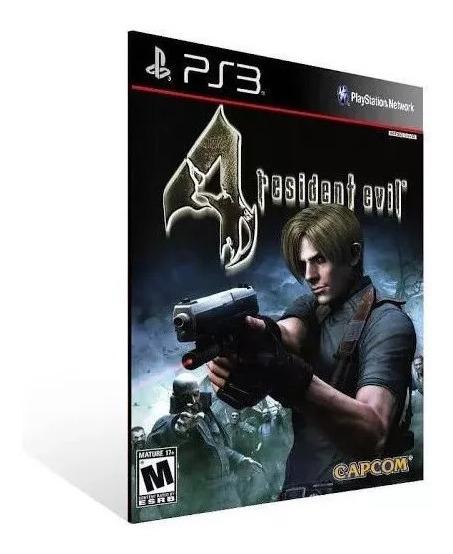 Resident Evil 4 Re4 Ps3 Jogo Psn Envio Já Original Ps3
