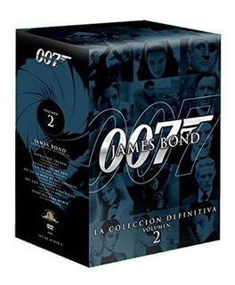 007 James Bond La Colección Definitiva Volumen 2 Dvd