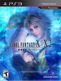 Final Fantasy X/x-2 Hd Remaster Full Ps3 - Mídia Digital