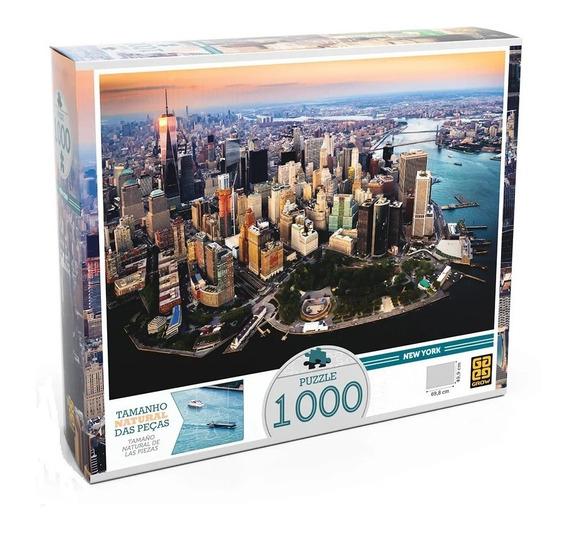 Quebra Cabeça Puzzle Grow 1000 New York Peças Original