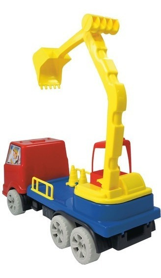 Brinquedo Maquinatron Escavadeira