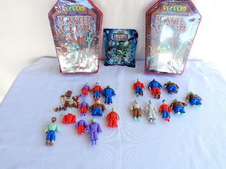 Coleção Monster Club Revista Recreio Caixão Com Bonecos