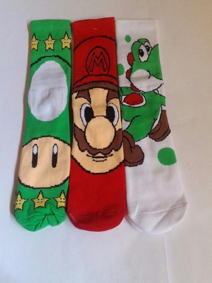 Calcetas Mario Bros Pack