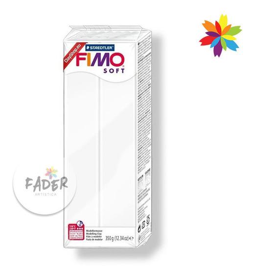 Fimo 350grs Soft Arcilla Polimérica Color Blanco Horno