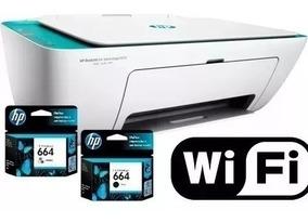 Impressora Multifuncional Hp Deskjet 2675 Wifi Bivolt 3x1