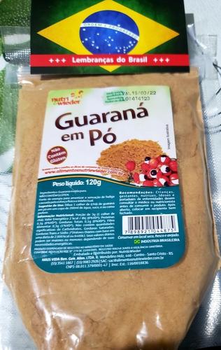 Oferta!!! Guaraná En Polvo De Brasil 120 Grs Caba Y Envíos.