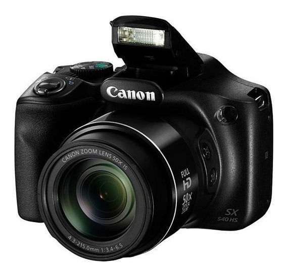 Câmera Canon Powershot Sx540 Hs Wi Fi De 20.3mp/video Full