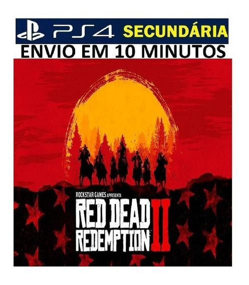 Red Dead Redemption 2 Ps4 - Original 2 Vitalício - Português