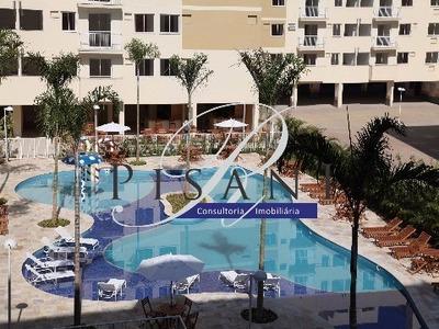 Atlantis Park, 3 Quartos (suite), Sol Da Manha, Lazer Completo - Ap01757