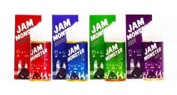 Jam Monster Ice Monster 100 Ml 3% Nico. Clon Importado
